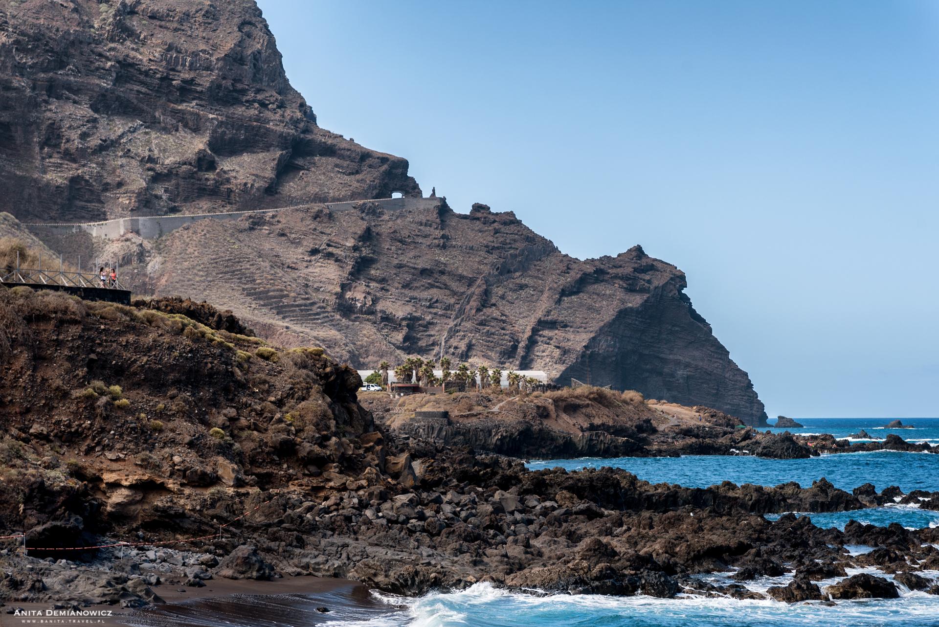 Punda del Fraile, Punta del Teno, Teneryfa, Wyspy Kanaryjskie