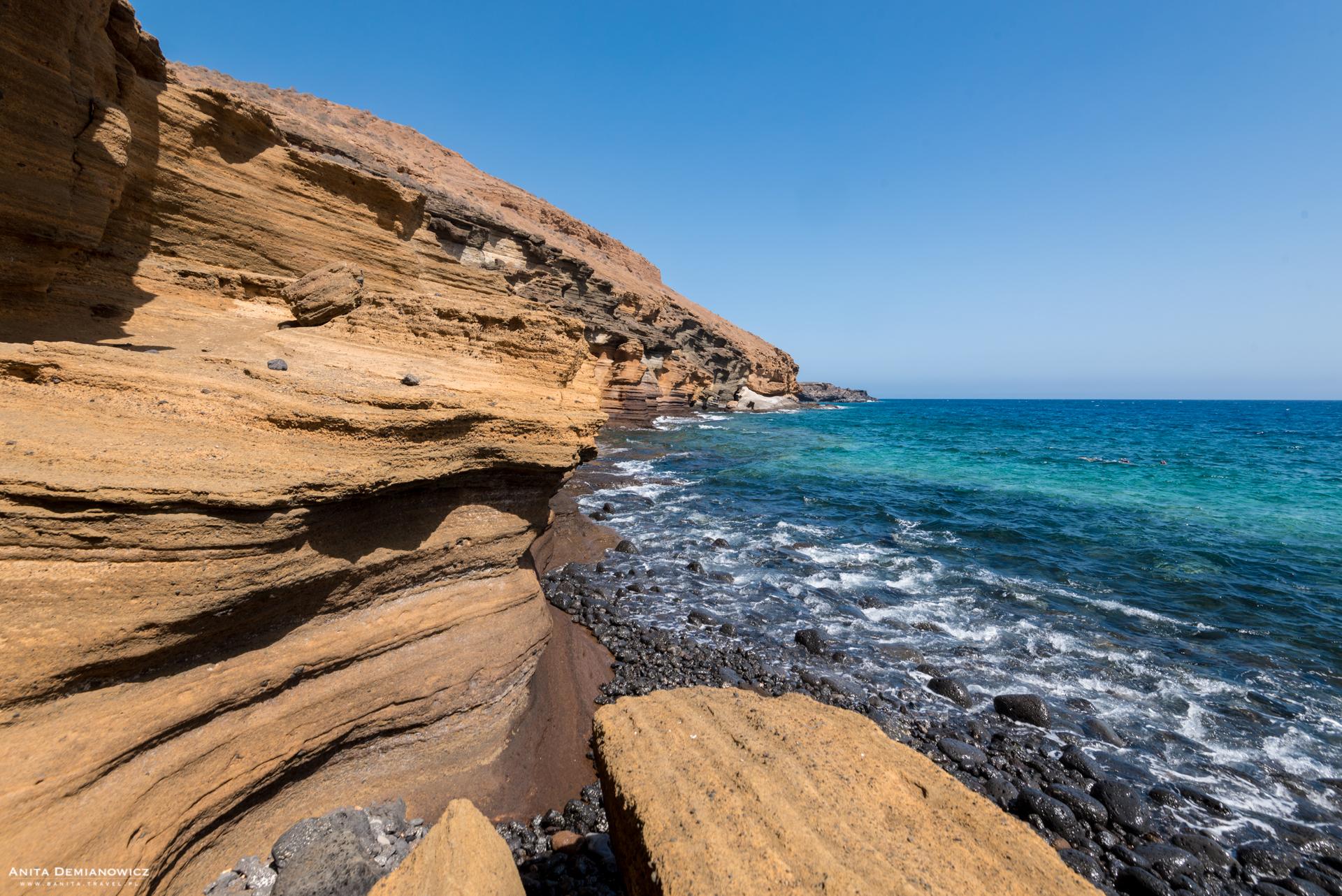 Wulkan Amarilla, Teneryfa, Wyspy Kanaryjskie
