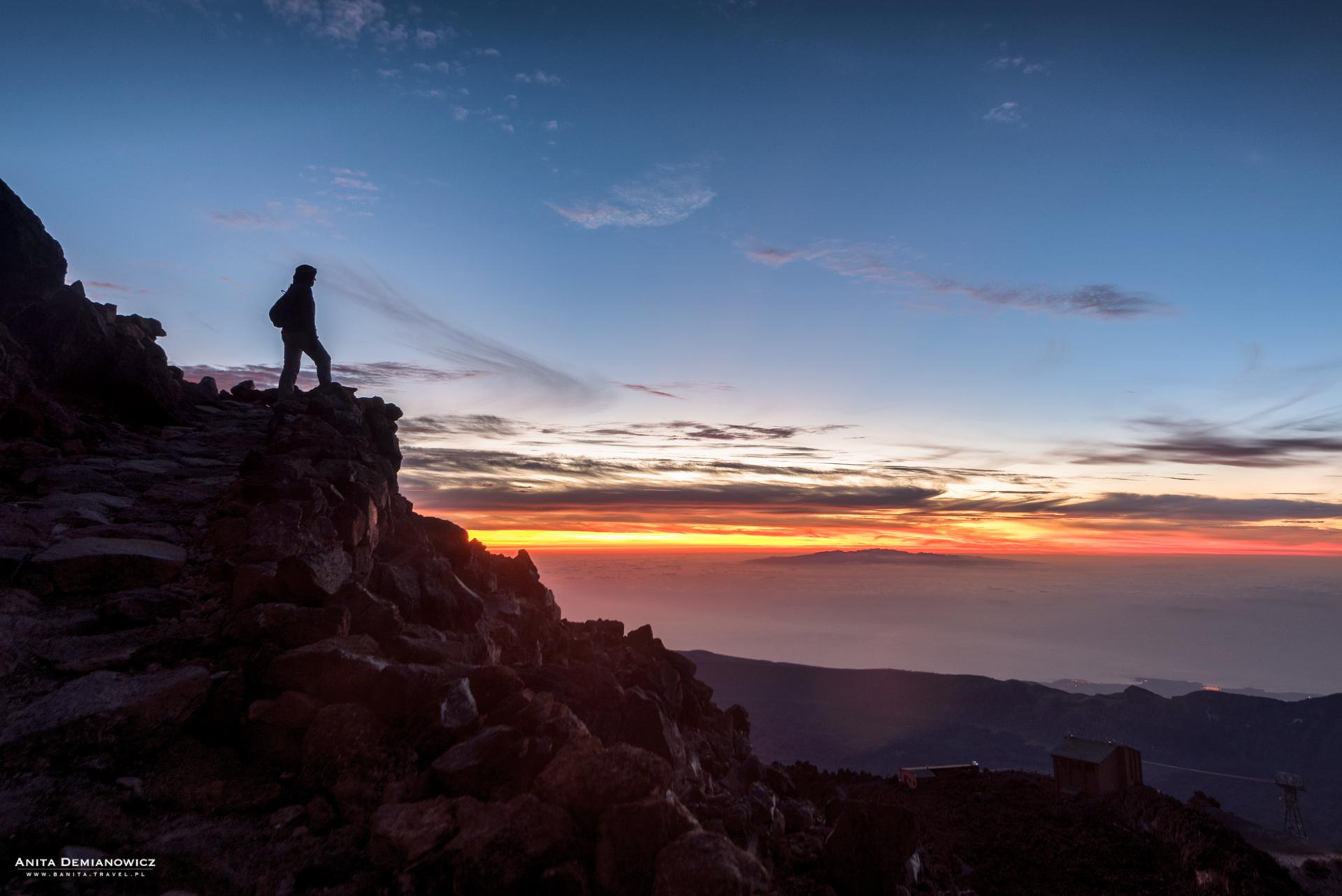 Wulkan El Teide, Teneryfa, Wyspy Kanaryjskie