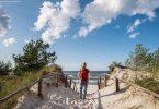 Dzika plaża Stilo nad Morzem Bałtyckim