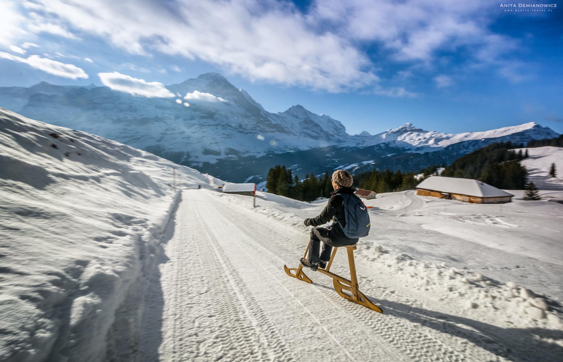 Ferie zimowe. Szwajcaria zimą