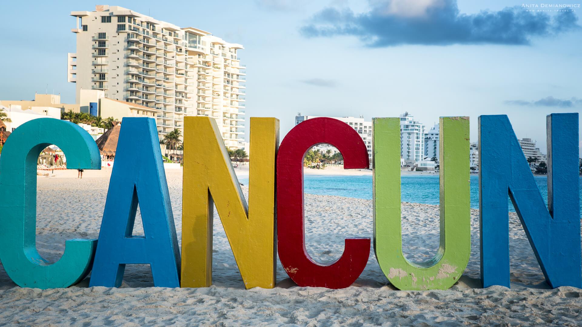 Przewodnik poMeksyku, Cancun