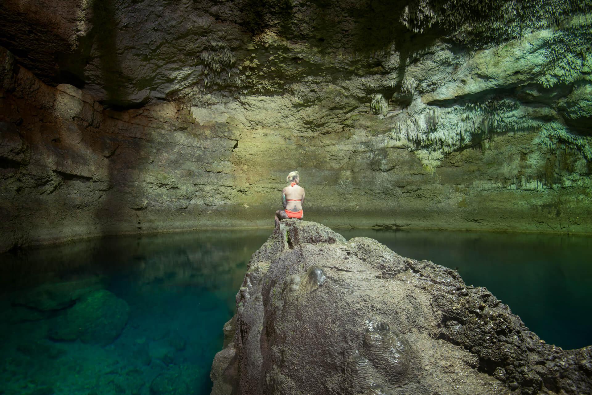 Cenoty Meksyk, cenote Tankan Ha