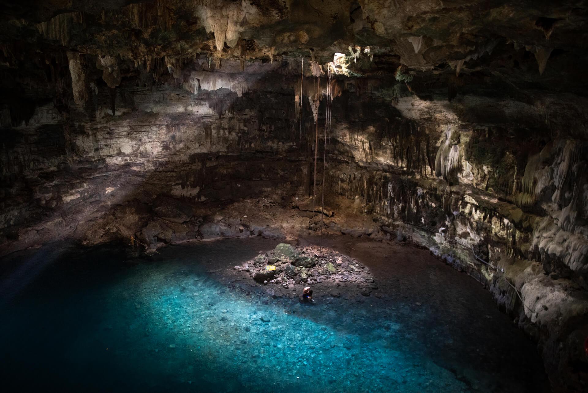Cenoty Meksyk, cenote Samula