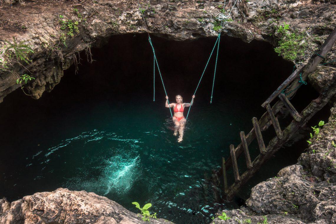 Cenoty Meksyk, cenote Calavera
