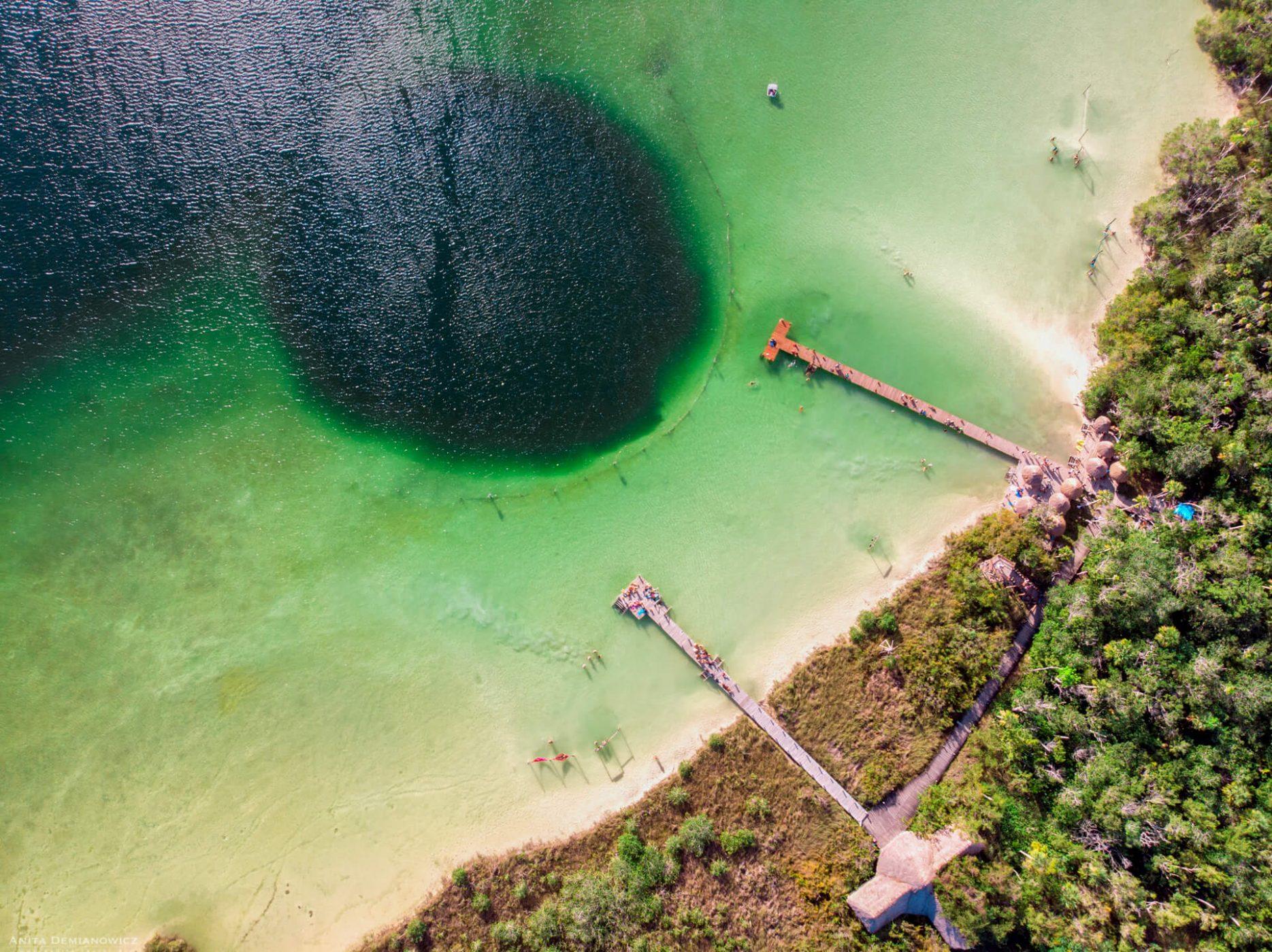 Cenoty Meksyk, Laguna Kaan'Luum