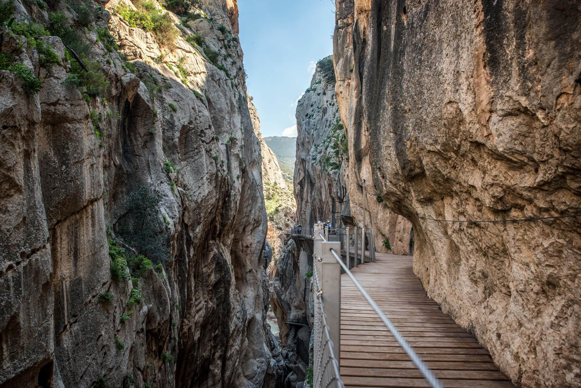Andaluzja, Malaga, Caminito del Rey