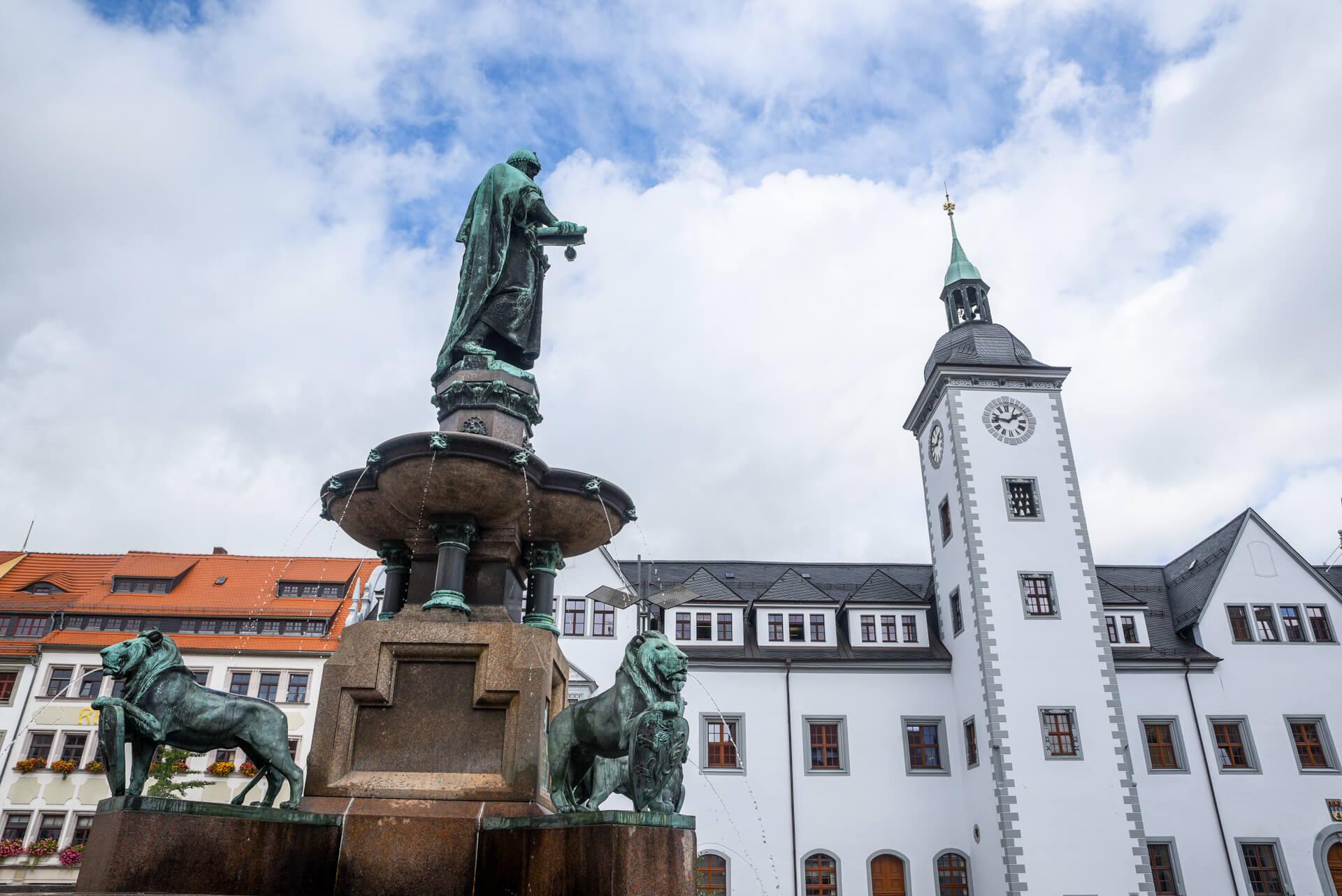 Saksonia, Rudawy, Niemcy